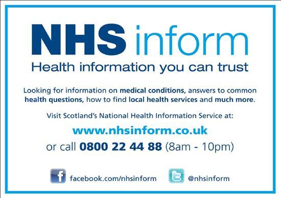 Image result for nhs inform logo